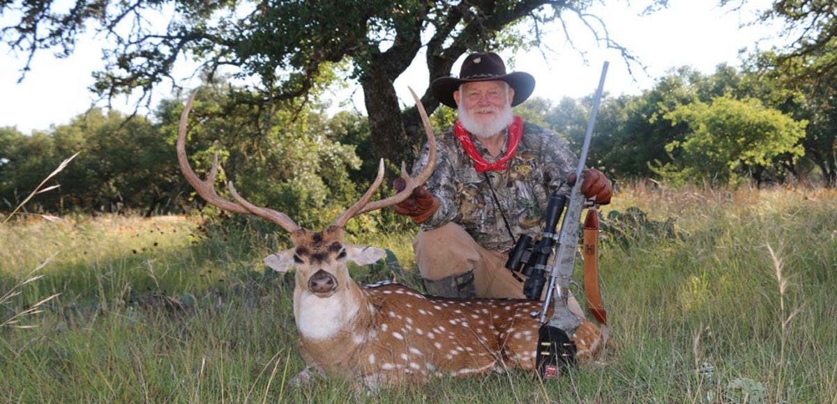 Hunting Axis Deer