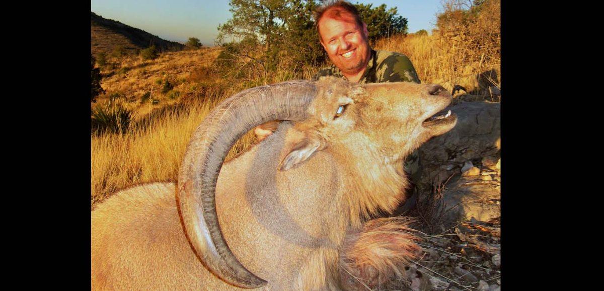 Aoudad Hunting Larry Weishuhn