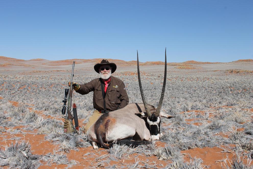Gemsbok Hunting